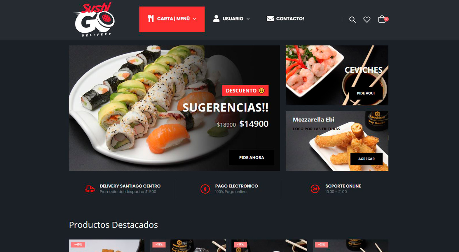 SushiGo E-Commerce